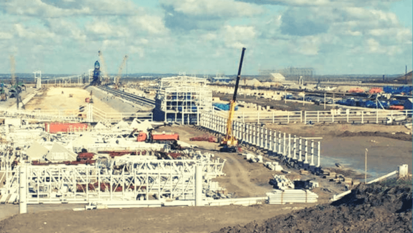 Изготовление и монтаж металлоконструкций для эстакады
