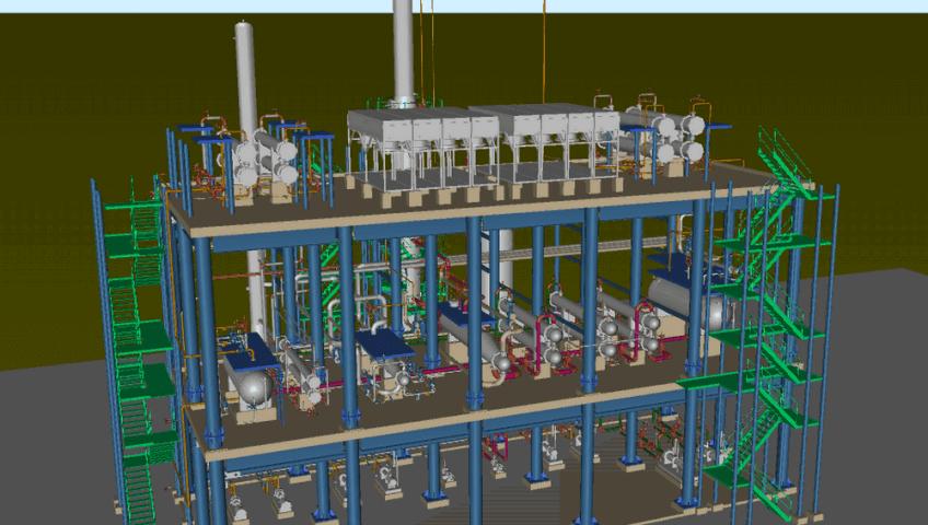 Реконструкция железнодорожных эстакад слива-налива нефти