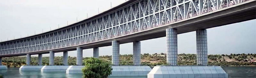 Мы участвуем в строительстве автомобильного моста в Крым