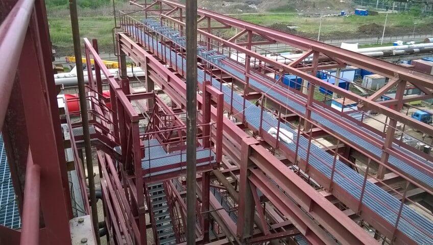 Более 1500 тн. Металлоконструкций поставлено для Афипского нефтеперерабатывающего завода