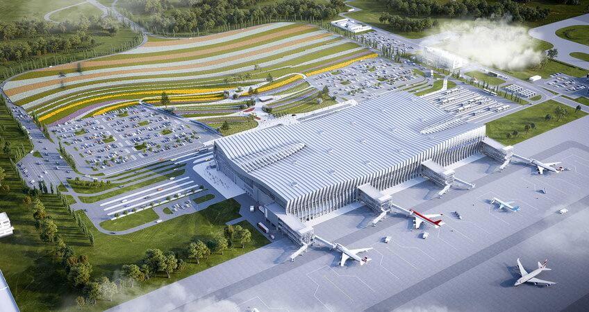 """Строительство аэропорта """"Симферополь"""""""