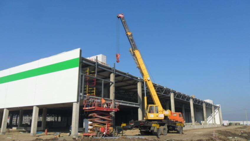Строительство ТЦ «Леруа Мерлен» в Краснодаре