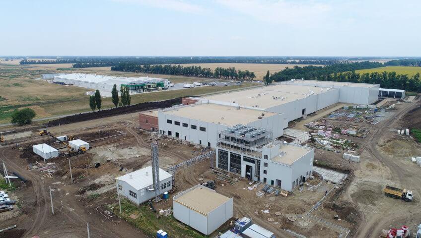Первый индустриальный парк Кубани